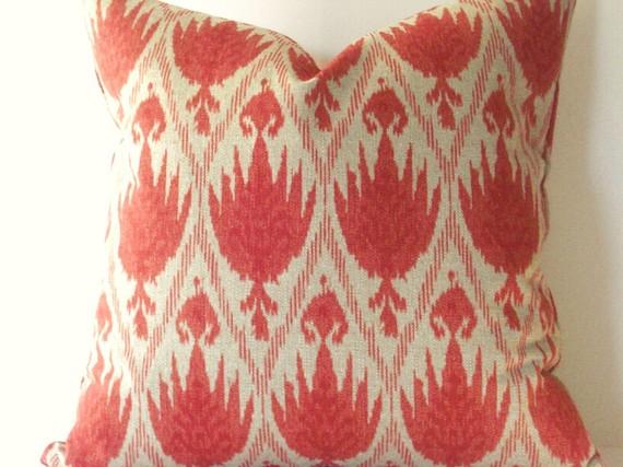 Ikat Design Pillow