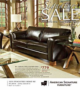 American  Signature Circular Cover